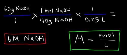 محاسبات سریع ریاضی در شیمی